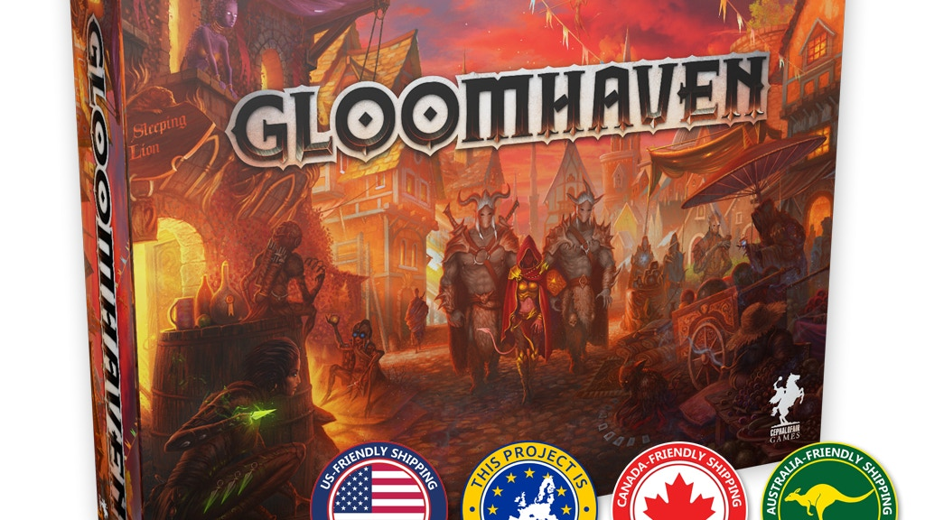 Gloomhaven miniatura de video del proyecto