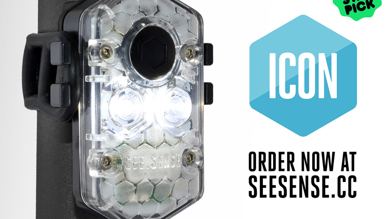 See Sense ICON is an industry-leading cycle light that connects you to a world of innovative features through your smartphone.