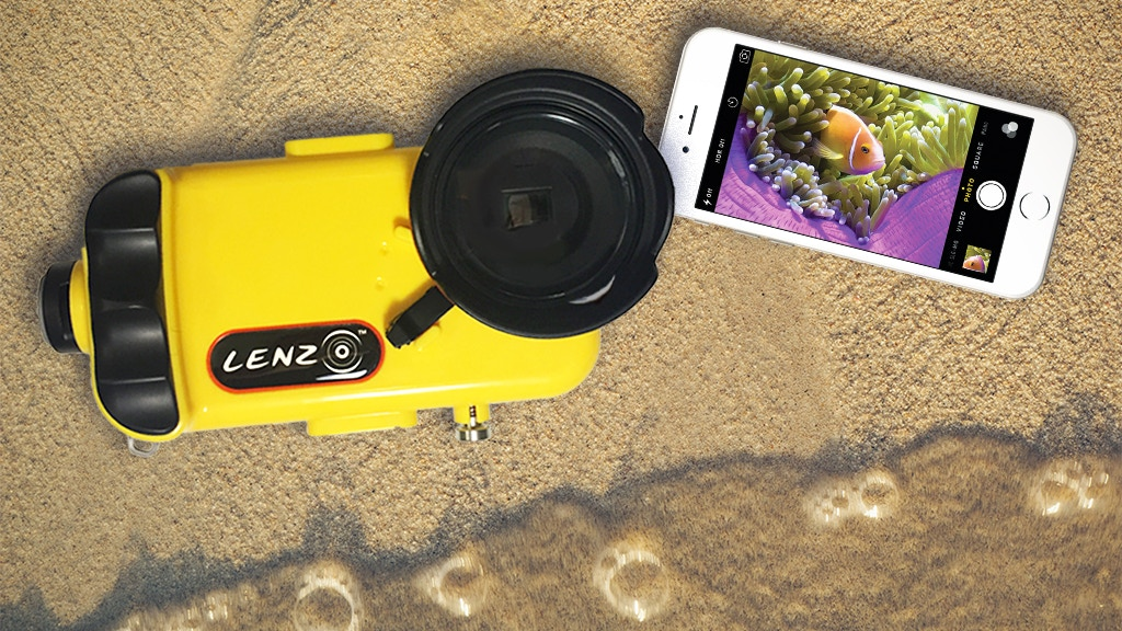 LenzO®: The Future of Underwater iPhone Imaging project video thumbnail