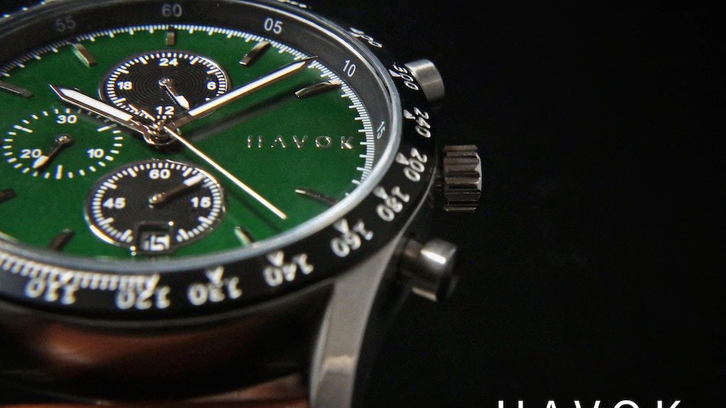 HAVOK RACER CHRONOGRAPH - Disrupting Luxury Watches Again project video thumbnail