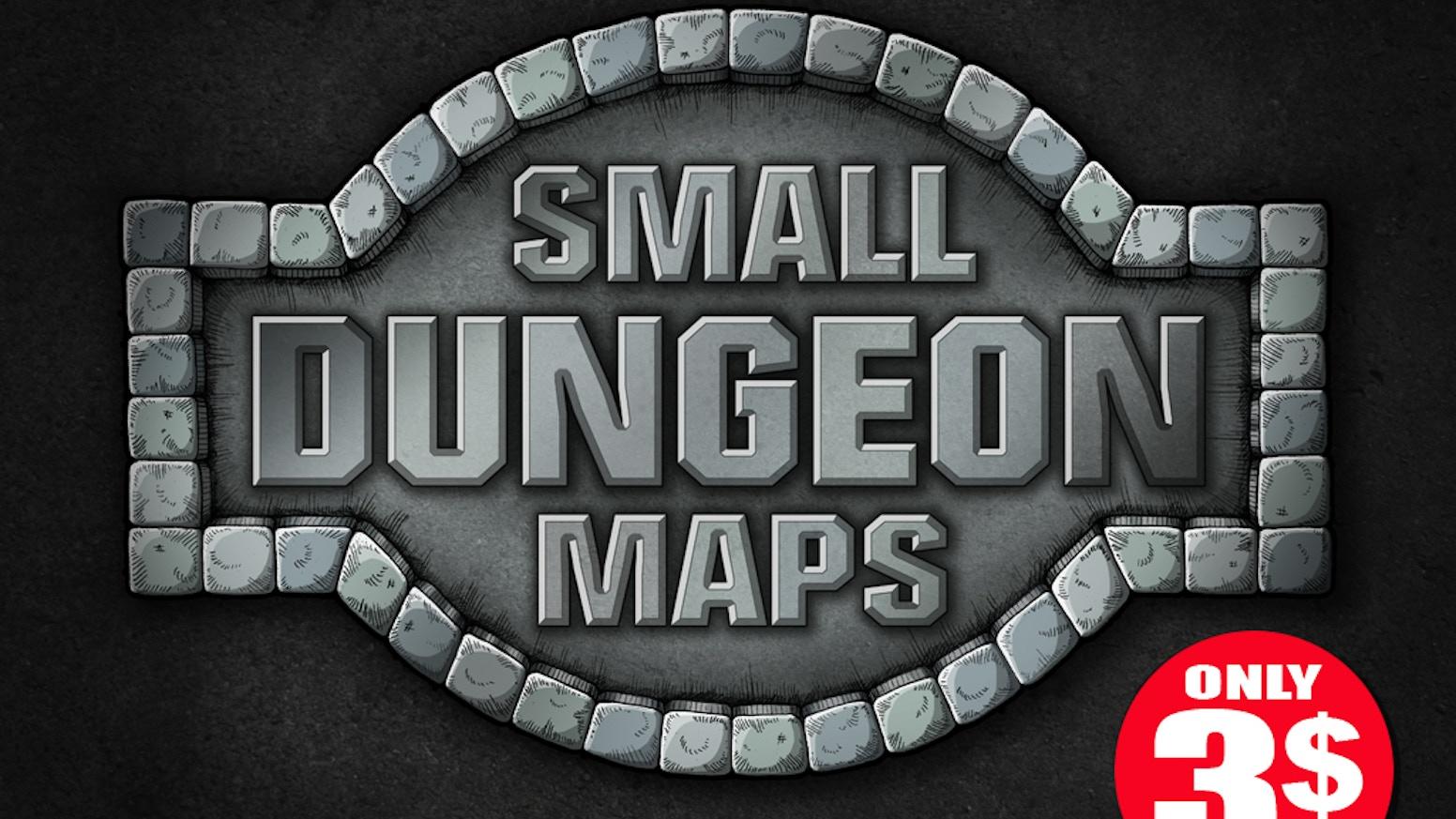 Small Dungeon Maps by Jean Francois Senay — Kickstarter