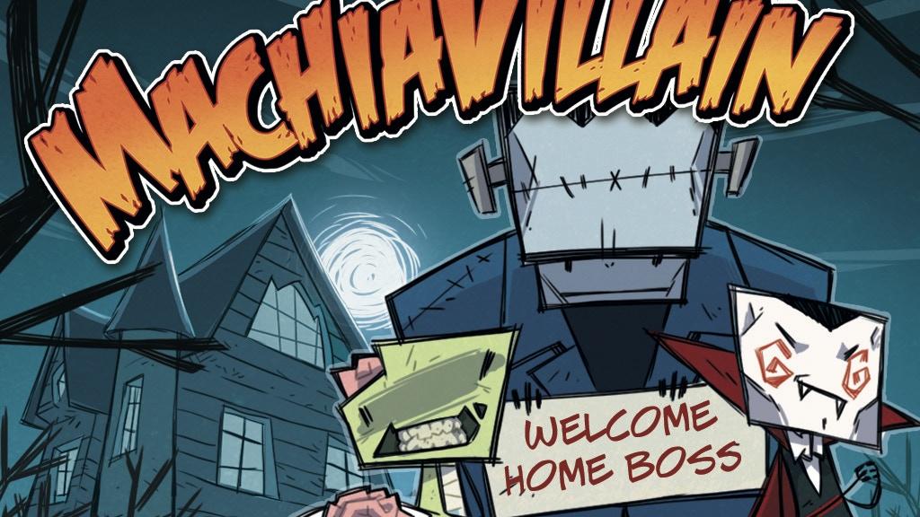 MachiaVillain - Horror mansion management game project video thumbnail