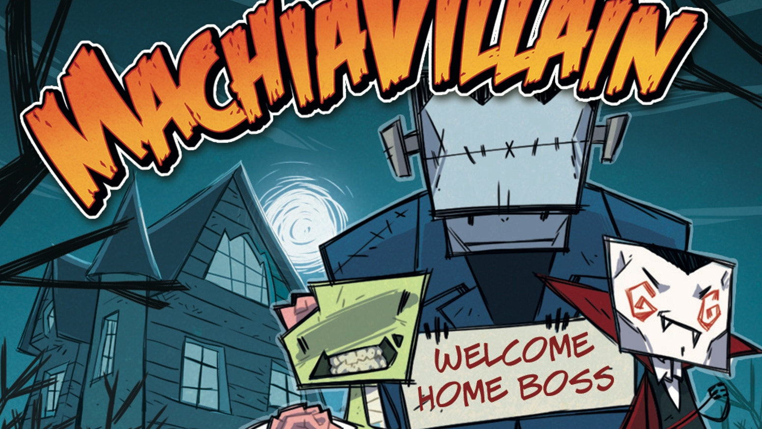 You're the Villain! Build your mansion, raise your monsters, and slaughter visitors! PC, Mac, Linux