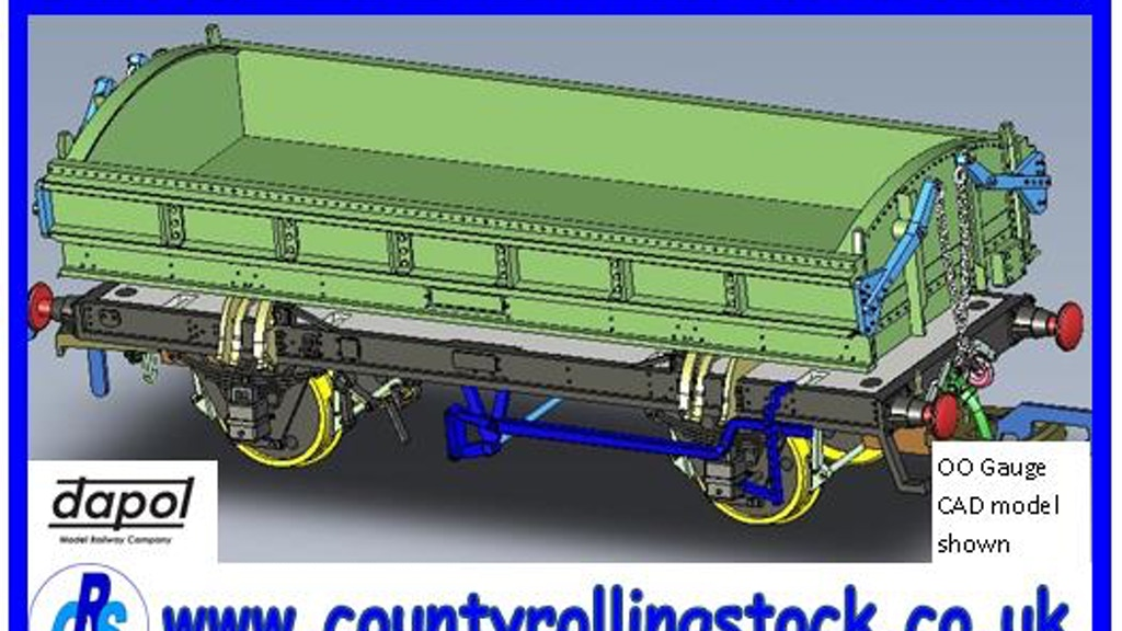 Project image for Mermaid Ballast Wagon - N Gauge Ready to Run (Canceled)