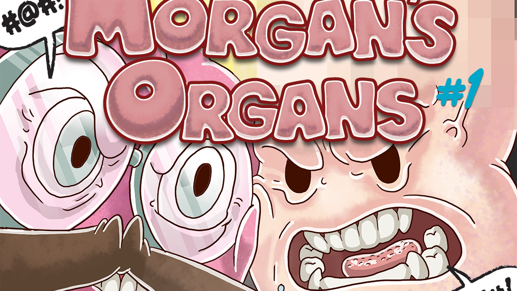 Morgan's Organs (#1) - A comic book inside our insides project video thumbnail
