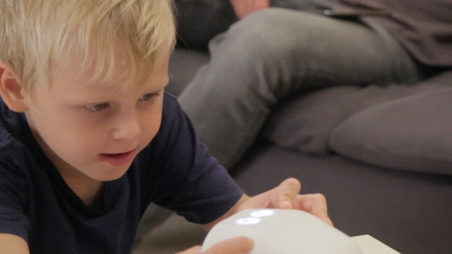 A piggy bank for the modern parents. ERNIT teaches children how to give, save and spend money wisely.