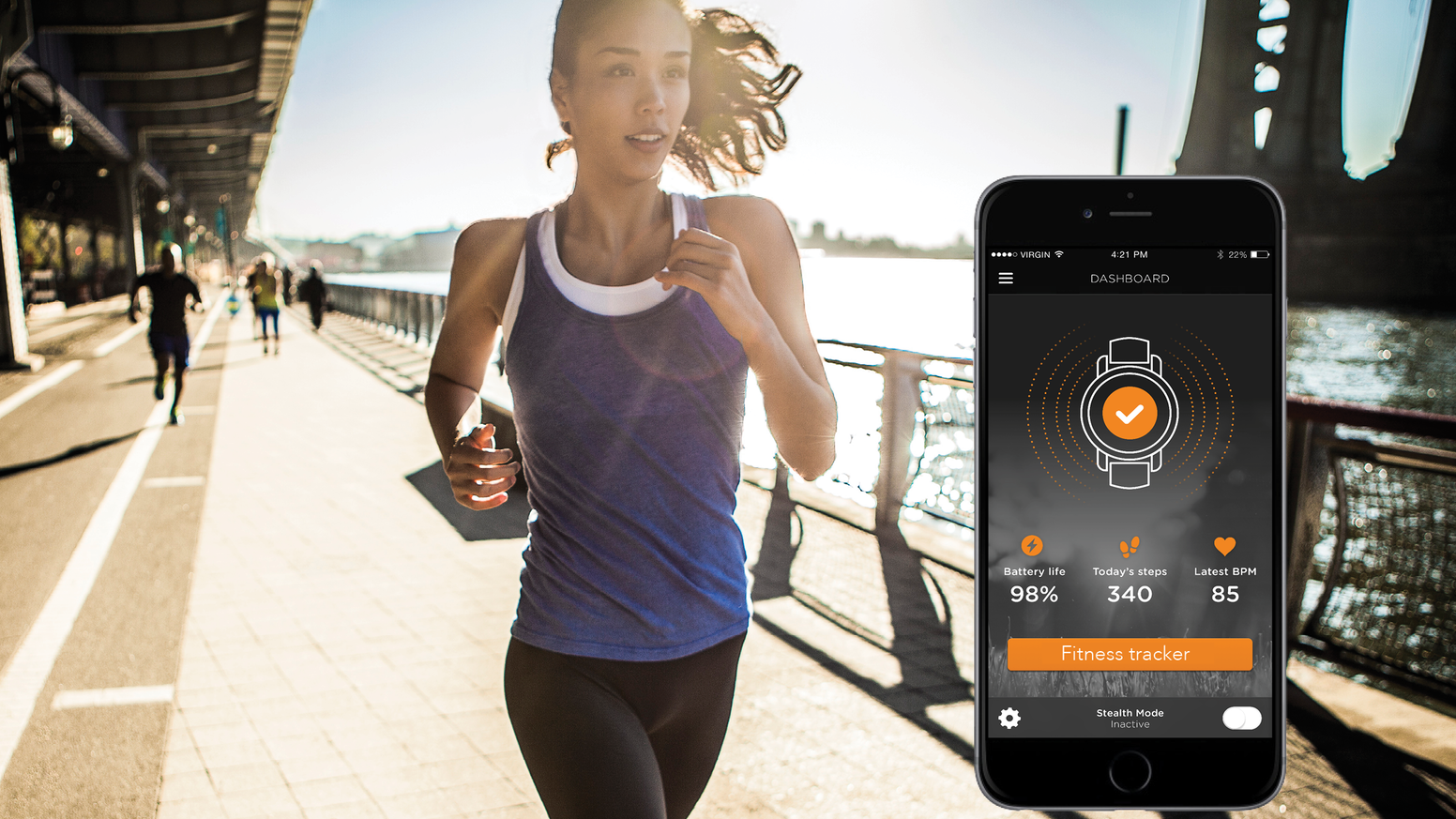 The World's first device to turn your own watch into a smartwatch. Get fit in a bit and so much more!