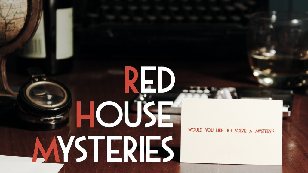 Red House Mysteries - Escape Room Project project video thumbnail