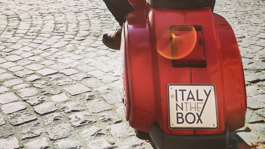 Italynthebox: culinary gems from Italy to your door project video thumbnail