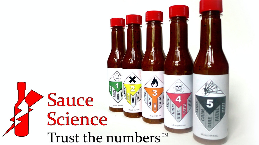Sauce Science Hot Sauce: Trust The Numbers project video thumbnail