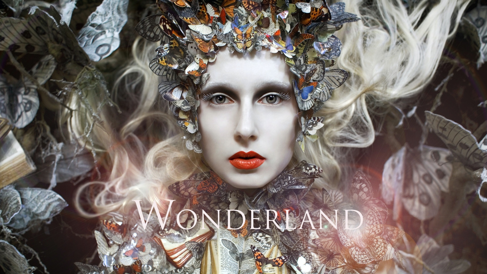 The highly anticipated photo book of the award-winning 'Wonderland' series, by British fine art photographer Kirsty Mitchell.