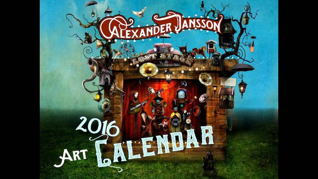 Calendar Art Questions : Alexander jansson art calendar by