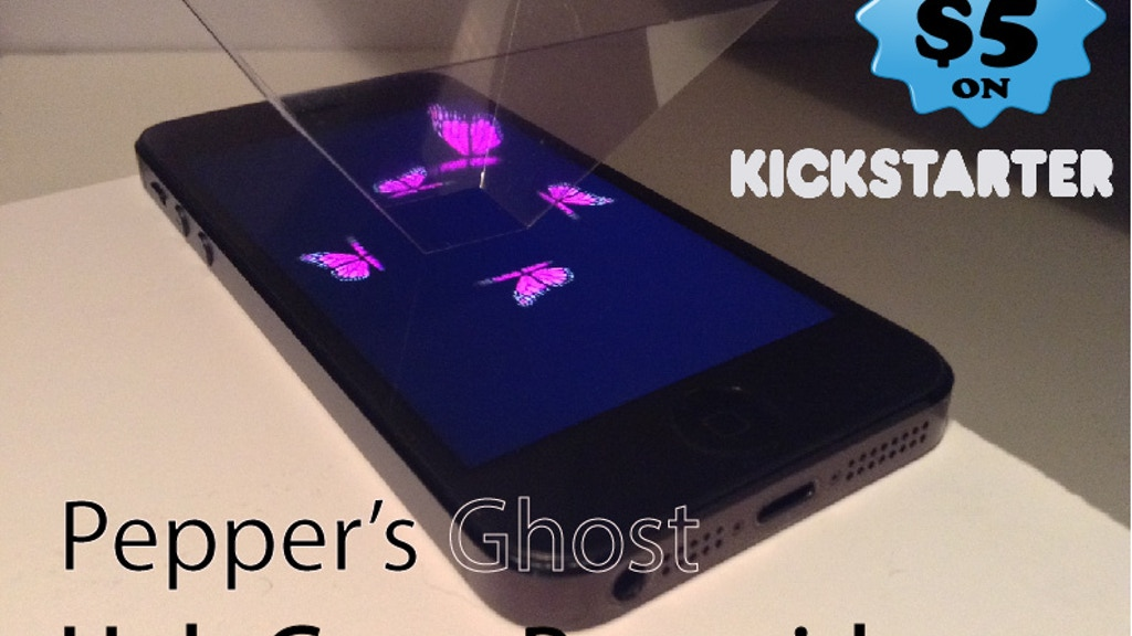 HoloGram Pyramid  (Pepper's Ghost *no mirrors/double blur) project video thumbnail
