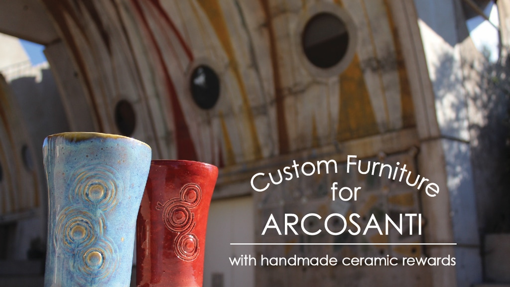 Handmade Ceramics and Custom Furniture at Arcosanti project video thumbnail