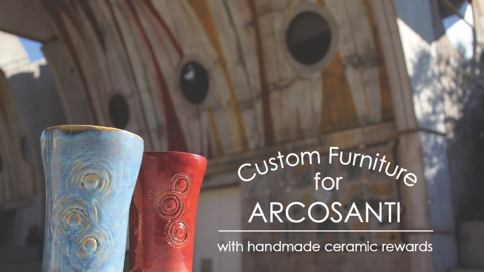Custom furniture for the ever-evolving community working to prototype Arcology at Arcosanti.