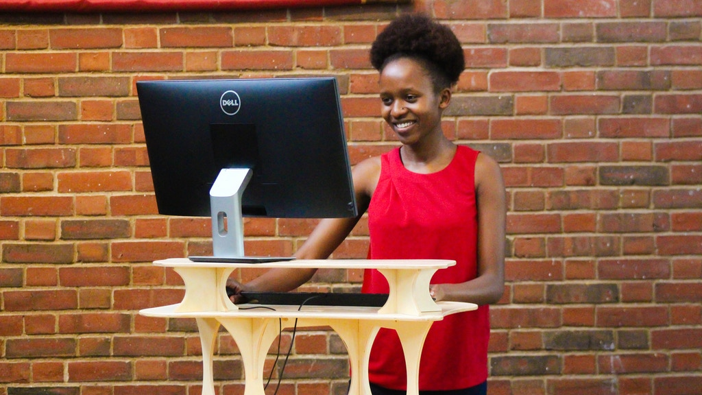 StandStand Grand: a beautiful standing desk project video thumbnail