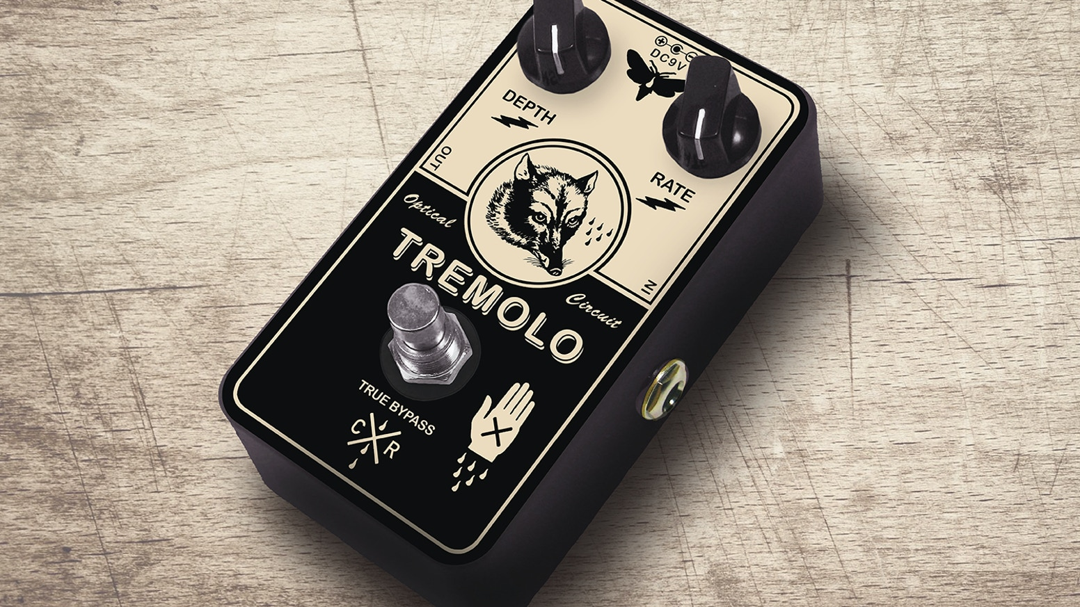Clever Fox // boutique tremolo guitar pedal by Crystal Radio