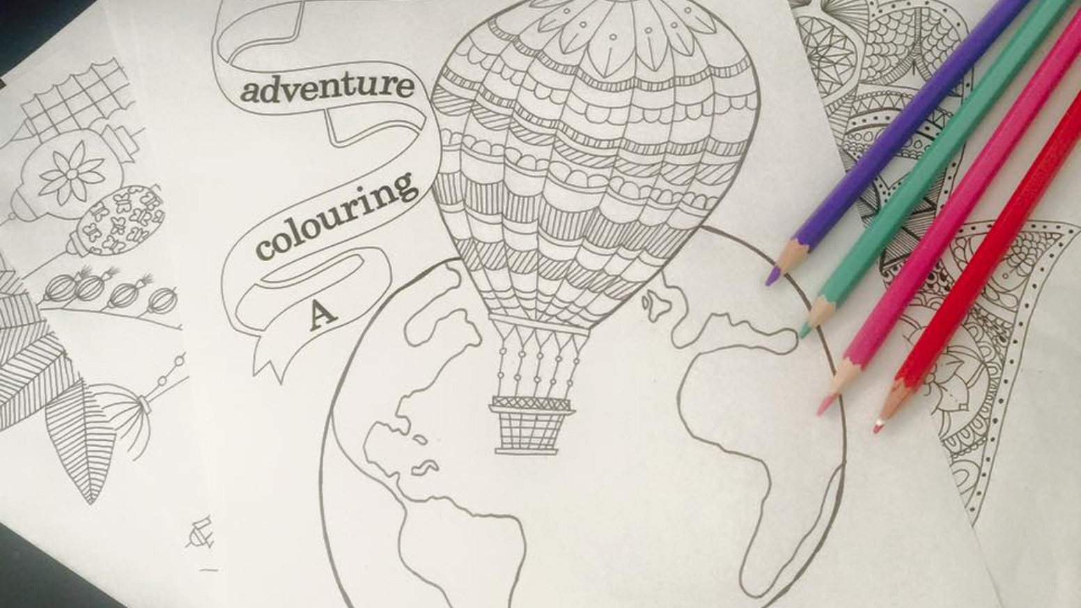 Travel On A Stress Free Colouring Journey Around The World From Comfort Of Your Own Home Kick Back And Let Book Transport You