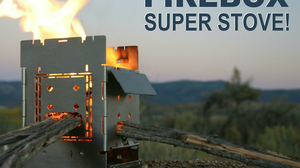 """G2 5"""" Firebox Stove! Flat Folding Camp Cooking Super Tool! project video thumbnail"""