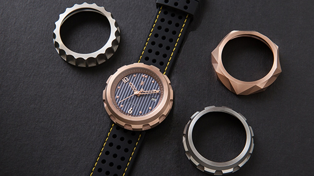 Saturno watch - an automatic interchangeable case watch project video thumbnail