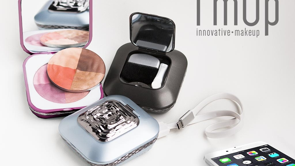 Project image for I'mUp: The World's First Makeup Compact with Mobile Charger