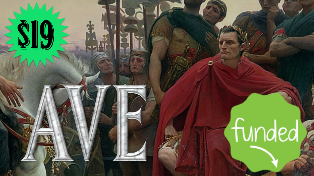 AVE: A Game of Deceit and Glory in Ancient Rome project video thumbnail