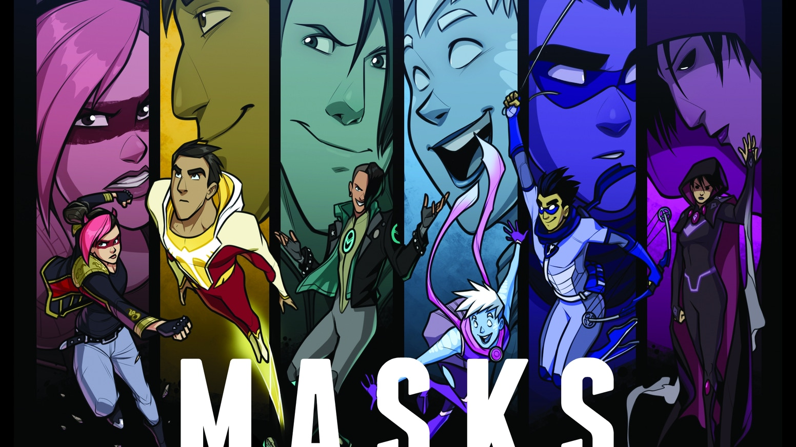 masks a new generation by brendan g conway kickstarter