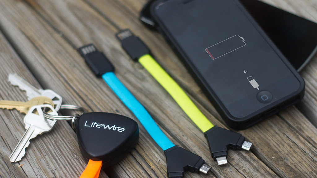 LiteWire Key: Fastest & Safest Compact Dual Charging Cable project video thumbnail