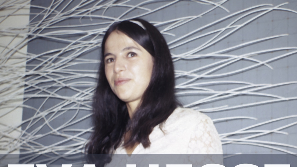 """Eva Hesse"", a feature-length documentary film project video thumbnail"