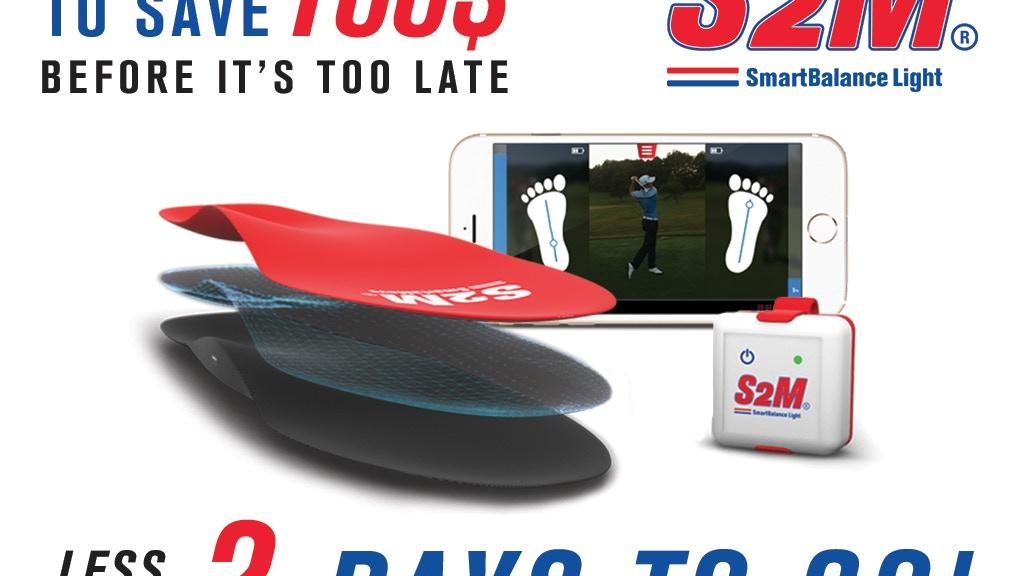 SmartBalanceLight improve Power & balance in golf & baseball project video thumbnail