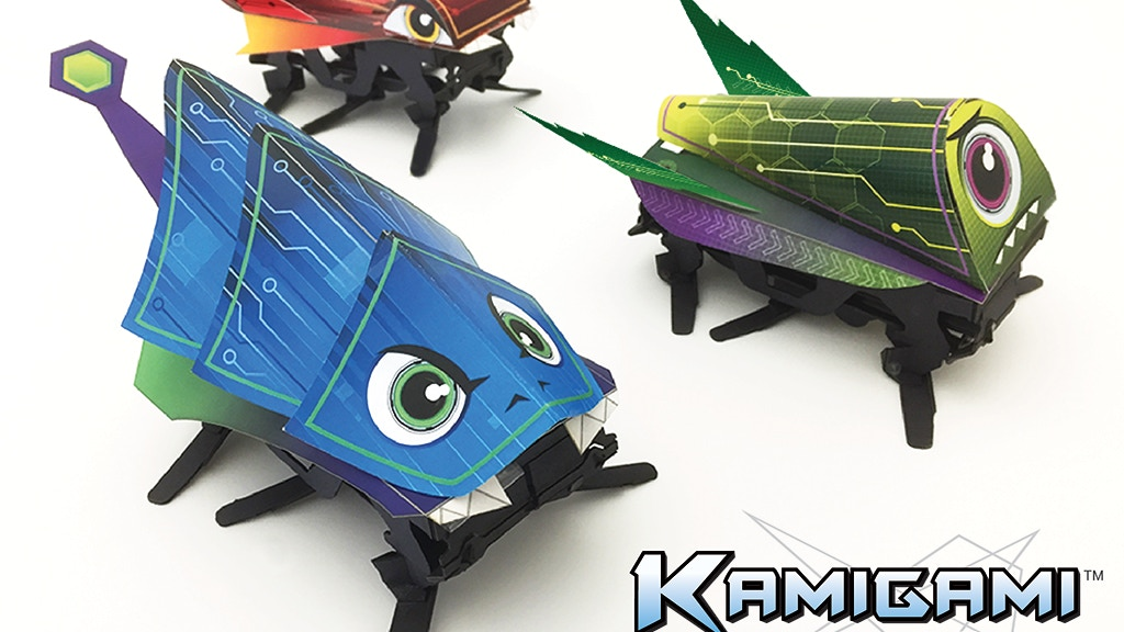 Kamigami — Animal-inspired robots anyone can make project video thumbnail