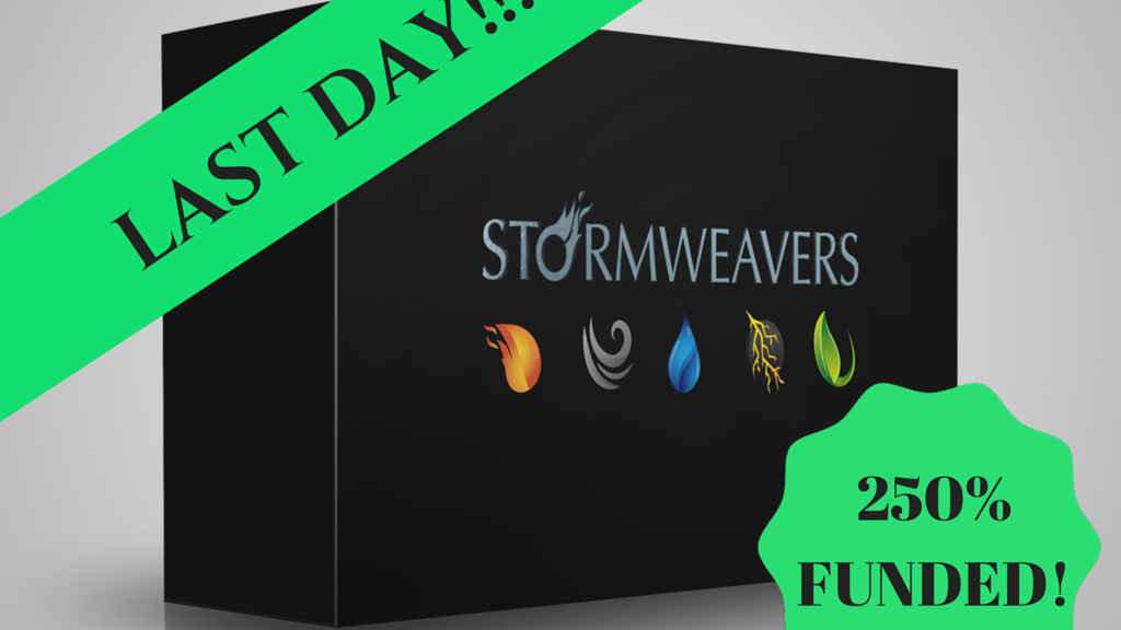 Stormweavers - a card game of cataclysmic proportions project video thumbnail