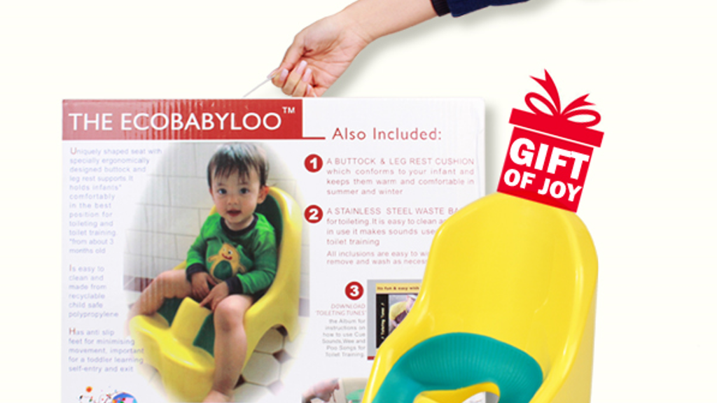 The Ecobabyloo – The World's First Toilet Chair for Babies! project video thumbnail