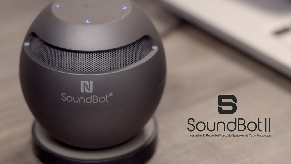 SoundBot II: Charging Your Speakers Can't Get Any Easier project video thumbnail