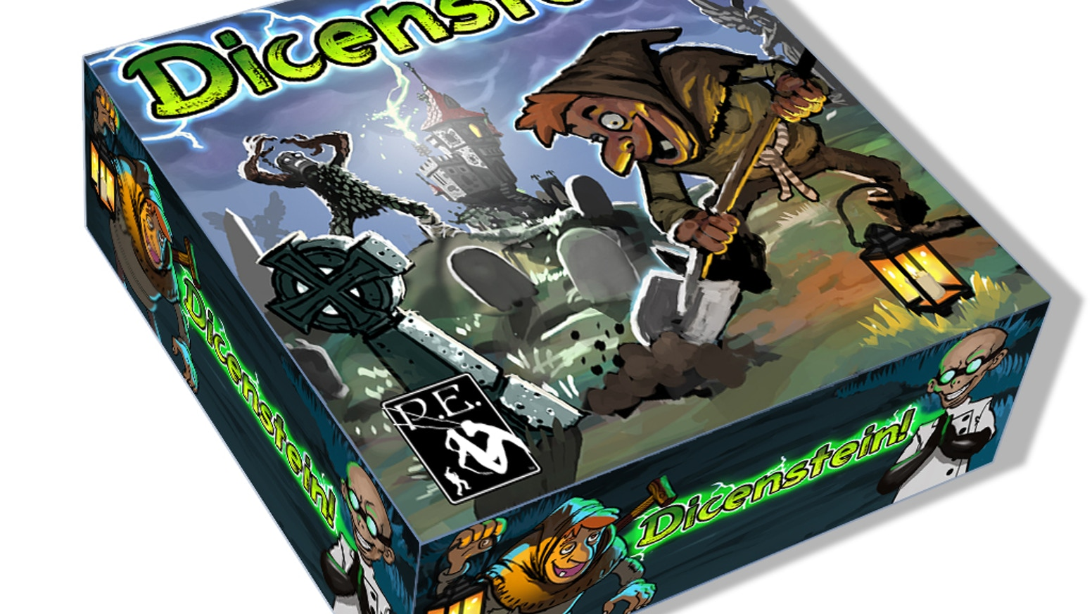 Become a mad scientist, digging through graveyards to stitch together wacky hybrid monsters and send them to battle!