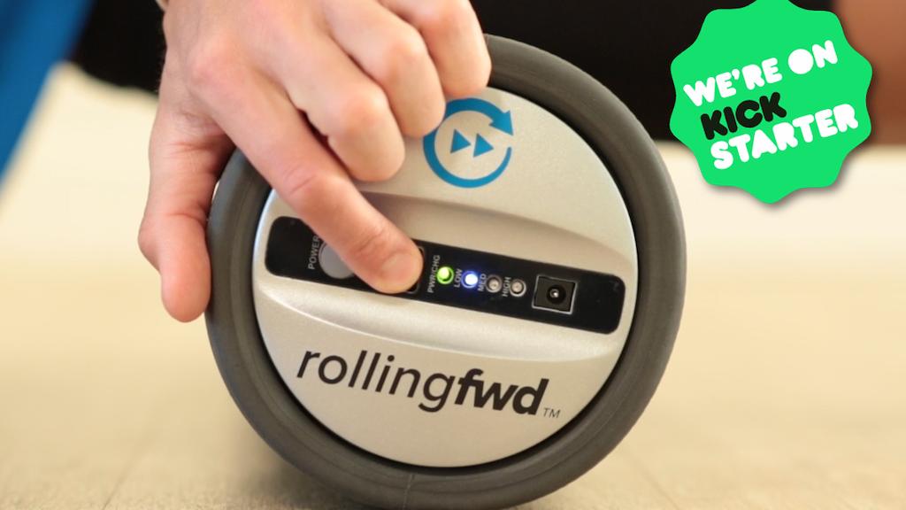 RollingFWD High-Tech Vibrating Foam Roller project video thumbnail