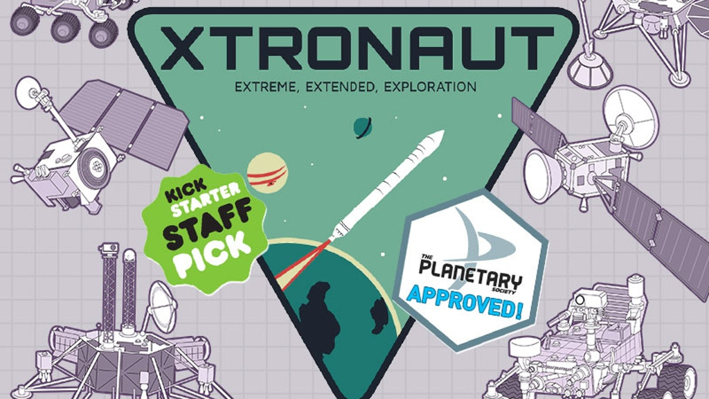 XTRONAUT™: The Game of Solar System Exploration project video thumbnail