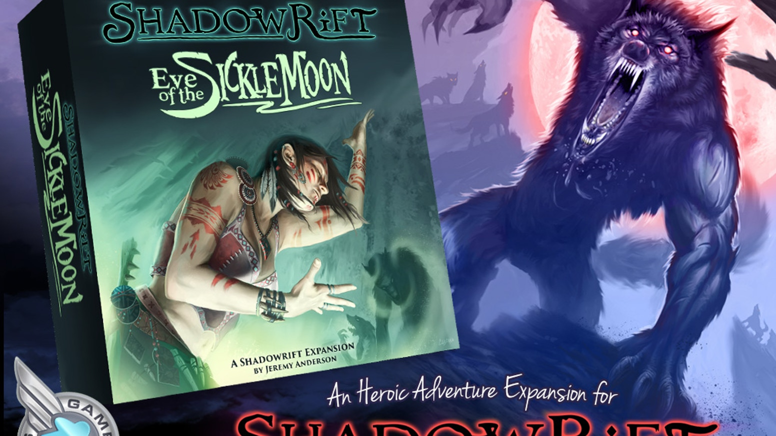 Shadowrift: Eve of the Sickle Moon by Shadowrift by Jeremy