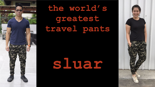 the world 39 s greatest travel pants trousers sluar by farouk kamal kickstarter