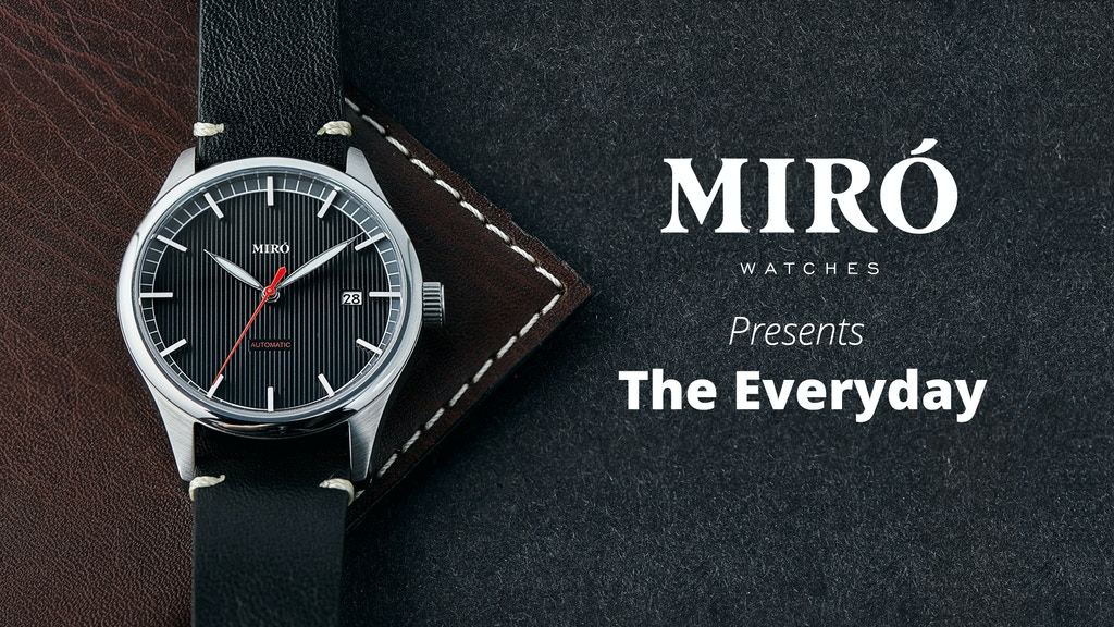Miró Watches - The Everyday project video thumbnail