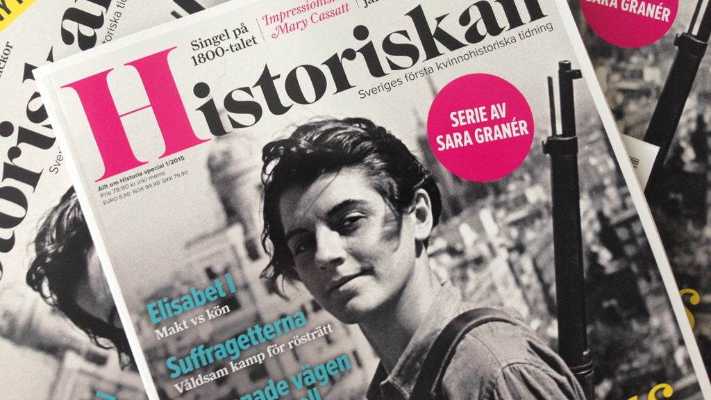 Historiskan – Sweden's first women's history magazine project video thumbnail