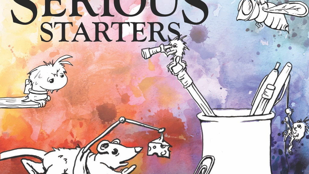 Serious Starters: An Art Book of Imagination Jumpstarts project video thumbnail
