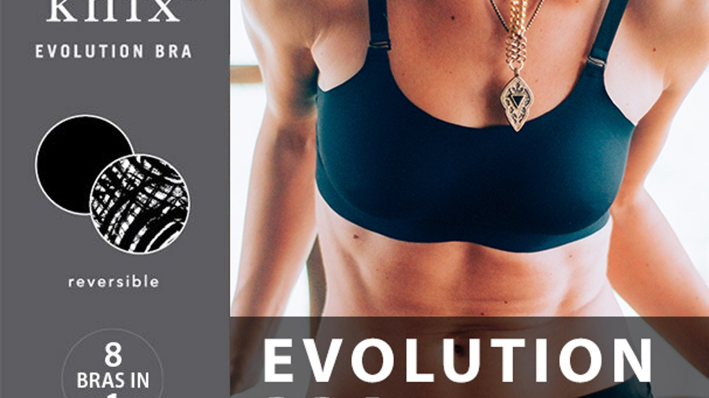 8-in-1 EVOLUTION BRA: The World's Most Advanced Bra project video thumbnail