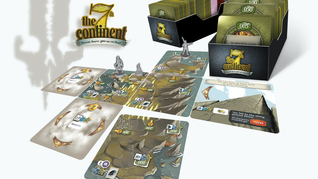 THE 7th CONTINENT - Explore. Survive. YOU are the hero! project video thumbnail