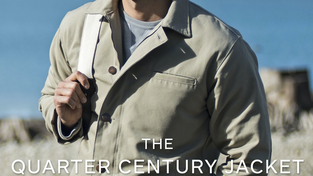 The Quarter Century Jacket | A 25 Year Guarantee project video thumbnail