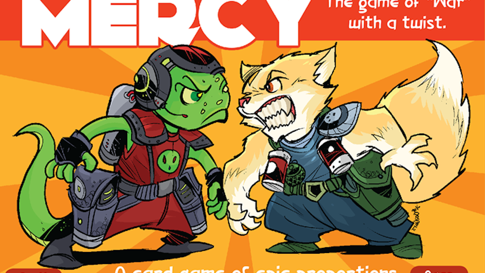 No Mercy - A kitty vs alien card game by travis hanson » THE