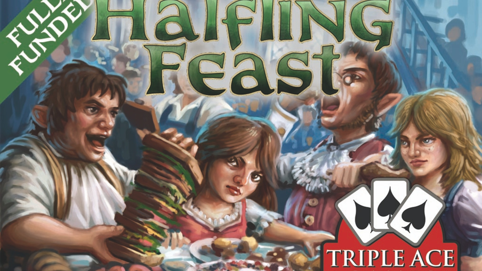 A fantasy card game of competitive eating for 2-6 Players. Let the feast begin!