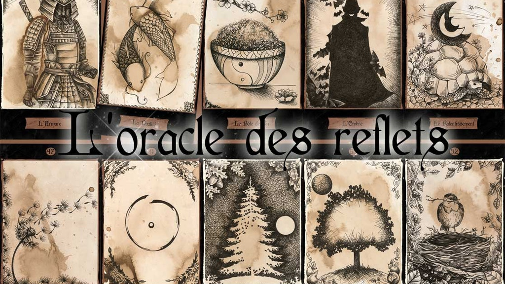 oracle des reflets - oracle/tarot deck project video thumbnail