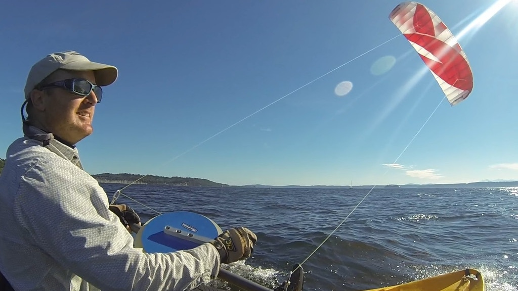 Extreme Boating Adventure With A Kite project video thumbnail