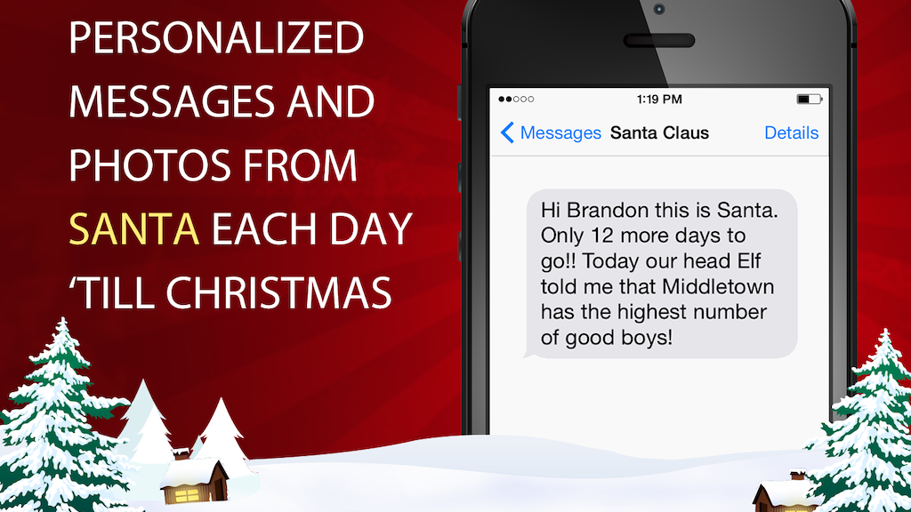 have santa text your child this christmas project video thumbnail